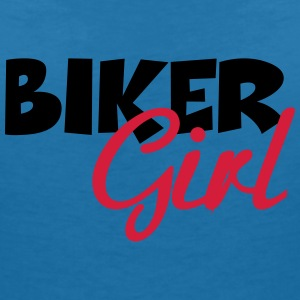 Biker Girl T-Shirts - Women's V-Neck T-Shirt