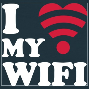 I love my wifi Tee shirts - T-shirt Homme