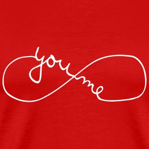 You And Me Forever (Symbol) Camisetas - Camiseta premium hombre
