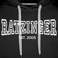 Motiv ~ Hoodie Ratzinger Sport (weißer Druck)
