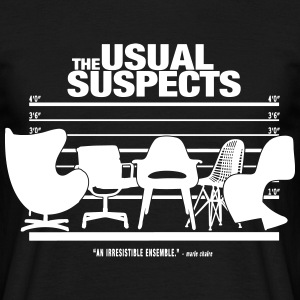 The Usual Suspects - Chairs - Men's T-Shirt