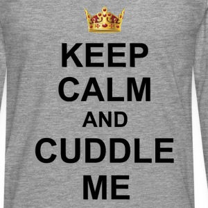 CUDDLE ME Long sleeve shirts - Men's Premium Longsleeve Shirt