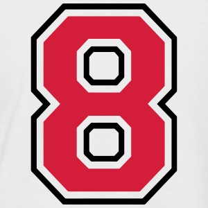 Number eight - 8 T-Shirts - Men's Baseball T-Shirt