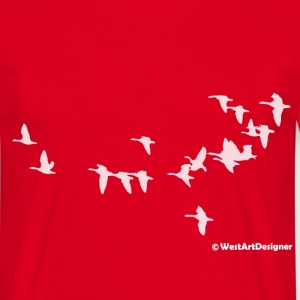 Goose Flight - Männer T-Shirt