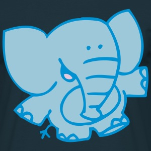 Little Elephant by Cheerful Madness!! T-Shirts - Men's T-Shirt