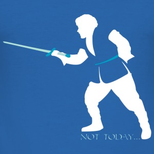 not today - Tee shirt près du corps Homme