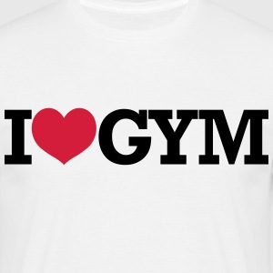 I Love Gym - Crossfit, Bodybuilding, Fitness T-shirts - Mannen T-shirt