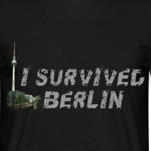 i survived berlin T-Shirts - Men's T-Shirt