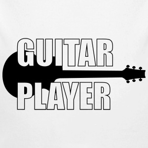 Guitar Player ! Pullover & Hoodies - Baby Bio-Langarm-Body