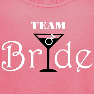 Team Bride Cocktail Tops - Women's Tank Top by Bella