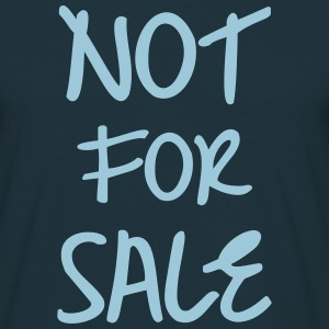 Not For Sale T-shirts - Herre-T-shirt