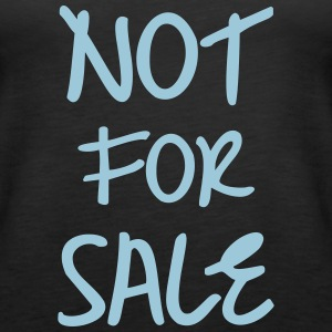Not For Sale Tops - Frauen Premium Tank Top