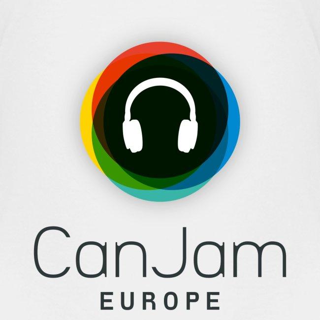 CanJam Europe - shirt kid/teen (logo bk)