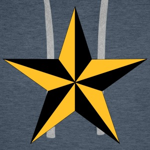 Nautical Star Hoodies & Sweatshirts - Men's Premium Hoodie