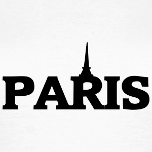 paris_eifelturm_herz3 T-Shirts - Frauen T-Shirt