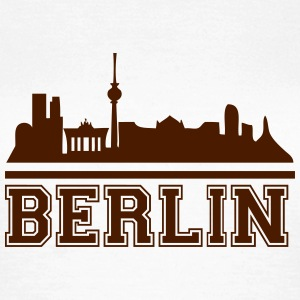 berlin_skyline_2 T-Shirts - Frauen T-Shirt