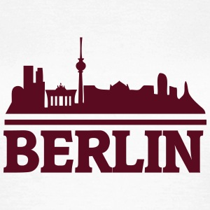 berlin_skyline_3 T-Shirts - Frauen T-Shirt