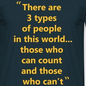 People can't count - Men's T-Shirt