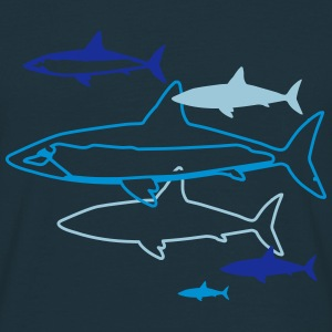 six sharks T-Shirts - Men's T-Shirt