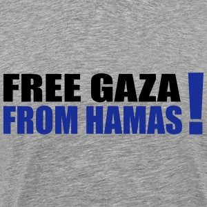 free gaza from hamas T-Shirts - Men's Premium T-Shirt