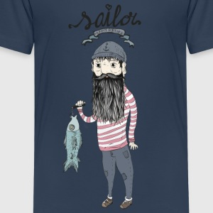 Sailor   Shirts - Kinderen Premium T-shirt