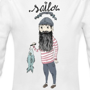 Sailor   Hoodies - Longlseeve Baby Bodysuit
