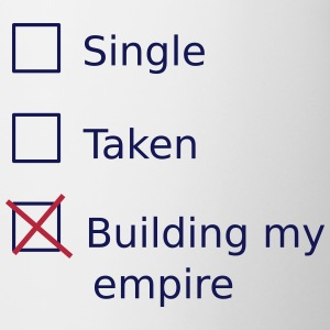 Single Taken Building my empire Muggar & tillbehör - Mugg