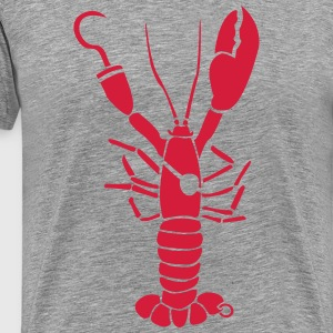 Lobster Pirate kræft T-shirts - Herre premium T-shirt