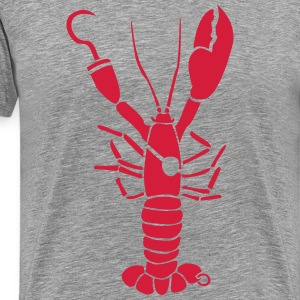 Lobster Pirate cancer T-Shirts - Men's Premium T-Shirt