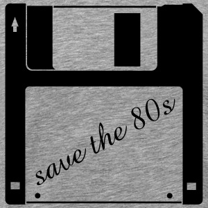 3.5 inch floppy disk - save the 80s T-Shirts - Men's Premium T-Shirt