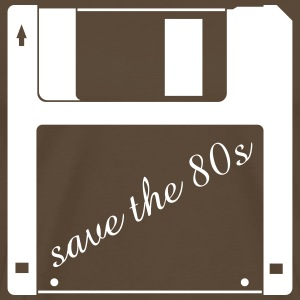 3,5 tomme diskette - save the 80er T-shirts - Herre premium T-shirt