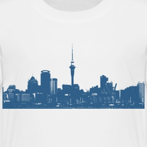 Skyline Auckland New Zealand - Kinder Premium T-Shirt