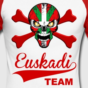 euskadi team Manches longues - T-shirt baseball manches longues Homme