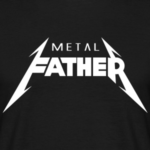 Metal Father_V2 T-shirts - Mannen T-shirt
