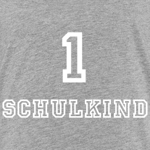 Schulkind 1 Collegestyle - Kinder Premium T-Shirt