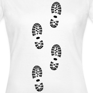 Shoes, Shoe Print, Hiking - Women's T-Shirt