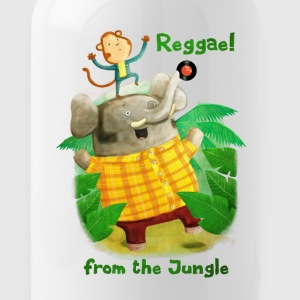 Reggae from The Jungle Mugs & Drinkware - Water Bottle