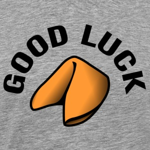 Good Luck Fortune Cookie T-shirts - Premium-T-shirt herr