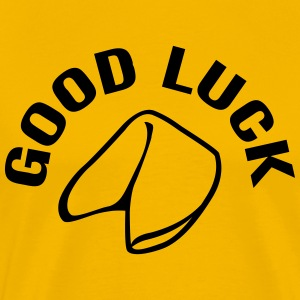 Good Luck Fortune Cookie T-skjorter - Premium T-skjorte for menn