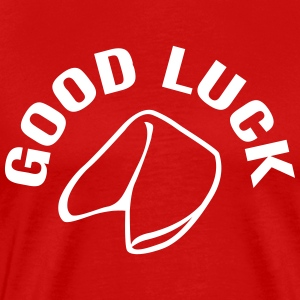 Good Luck Fortune Cookie T-shirts - Herre premium T-shirt