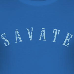 Blanc kitelegion_combat_savate T-shirts - slim fit T-shirt