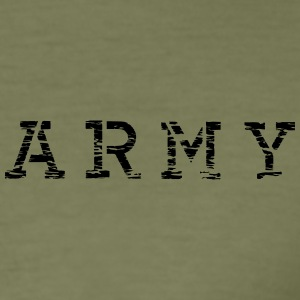 army__vec_3 en T-Shirts - Men's Slim Fit T-Shirt