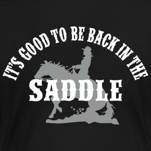 Back In The Saddle T-Shirts - Frauen Premium T-Shirt