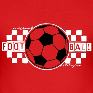 football_square_vec_3 es T-Shirts - Camiseta ajustada hombre
