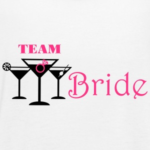 team bride cocktails Tops - Frauen Tank Top von Bella