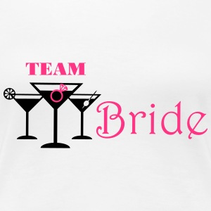 team bride cocktails Tee shirts - T-shirt Premium Femme
