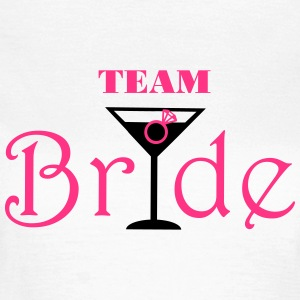 Team Bride Cocktail Tee shirts - T-shirt Femme