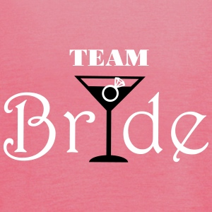 Team Bride Cocktail Tops - Vrouwen tank top van Bella