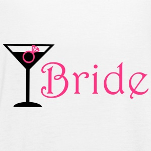Bride Cocktail Tops - Women's Tank Top by Bella