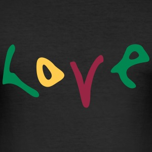 love_vec_3 nl T-shirts - slim fit T-shirt